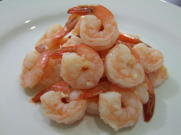 5-Minute Low-Fat Garlic Prawns