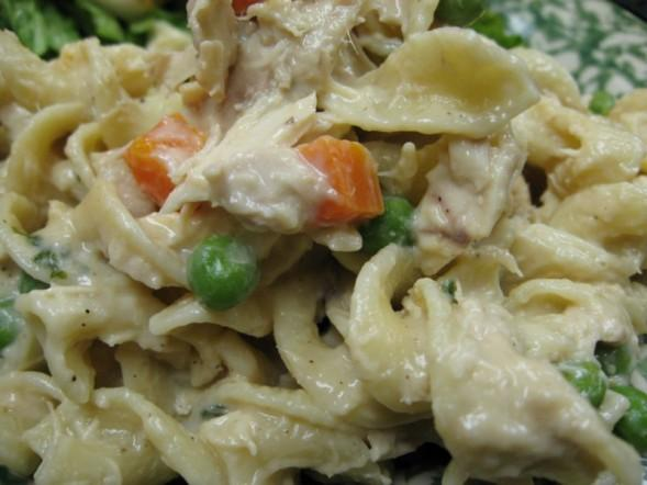 Quick and Easy Stove-Top Tuna Noodle Casserole