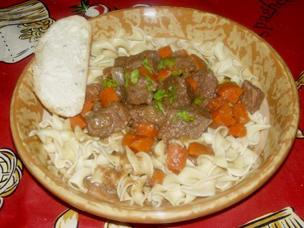 Traditional Beef in Guinness Stew