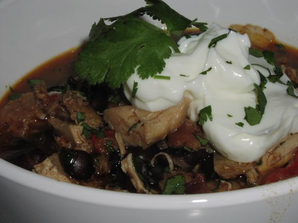 Southwestern Spiced Chicken & Black Bean Stew