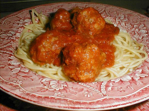 Tender Crock Pot Meatballs & Sauce