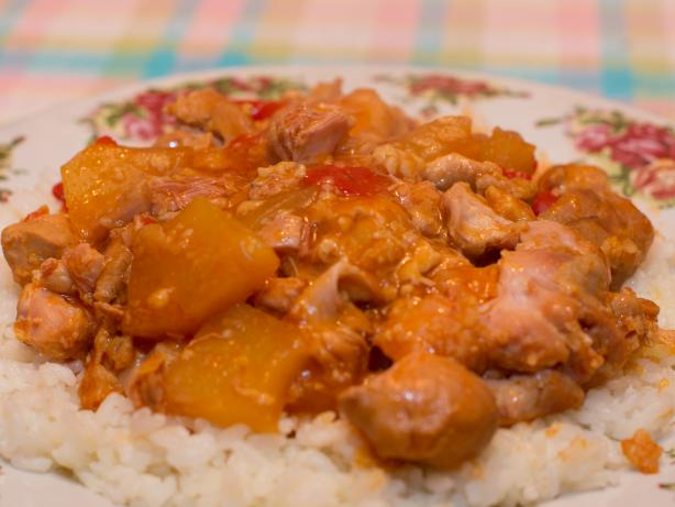 Cara's Sweet and Sour Crock Pot Chicken