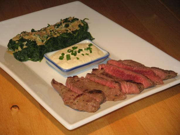 Creamy Horseradish Sauce for Prime Rib or Beef