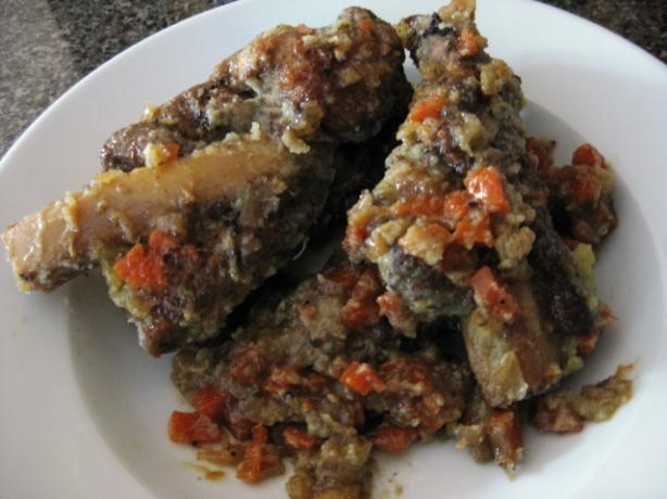 Braised Short Ribs in Vegetable Ragout