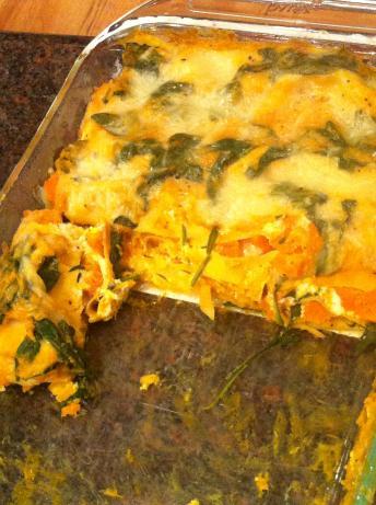 Easy, Creamy, Low Calorie Butternut Squash Lasagna