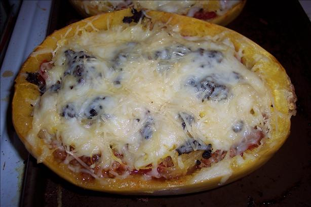 Lasagna Style Spaghetti Squash