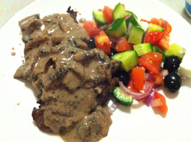 Gotta Be the Best Low Fat Mushroom Sauce Ever!!