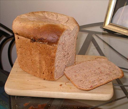 Garlic Herb Pepperoni Bread (bread machine)