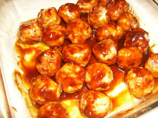 BBQ Chicken Meatballs