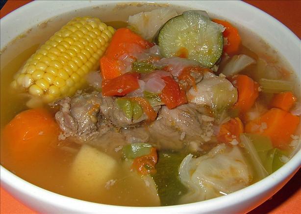 Los Barrios Caldo De Res (Beef Soup)