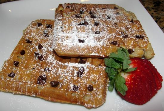 Coffee Chocolate Waffles