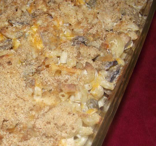 Sour Cream Chicken Macaroni Casserole