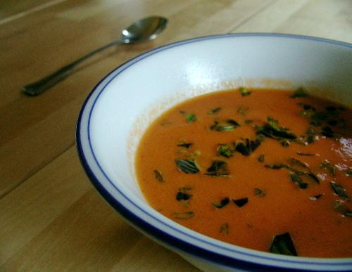 Cream of Garden Tomato Soup - Pressure Cooker - West