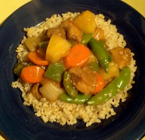 Sweet & Sour Polynesian Chicken