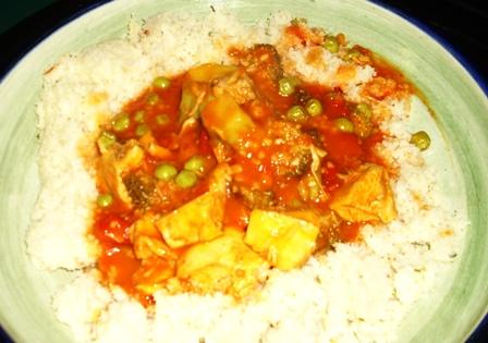Sweet & Sour Chicken Curry (Hot, Sour & Sweet!)