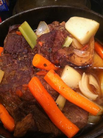 Simple Perfect Pot Roast