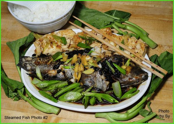 #1 Favorite Chinese Steamed Whole Fish by Sy