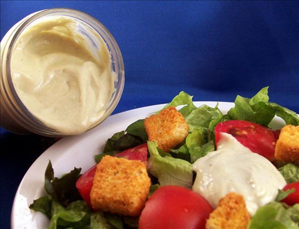 Creamy Non Dairy Romaine Salad