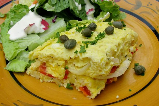 Spanish Potato and Egg Frittata
