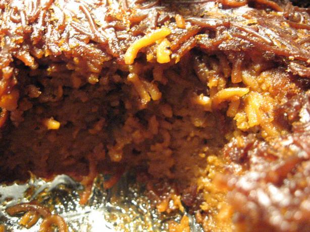 Jerusalem Sweet-Hot Noodle Casserole/ Yerushalmi Kugel