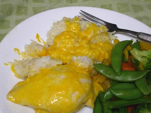 Cheesy Chicken & Rice Bake