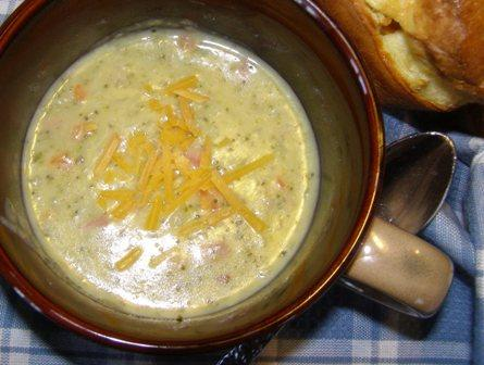 Broccoli Potato Cheese Soup - Weight Watchers