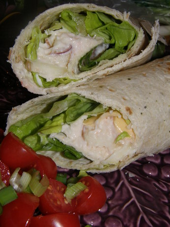 Weight Watchers 4 Pt Chicken Salad Wrap