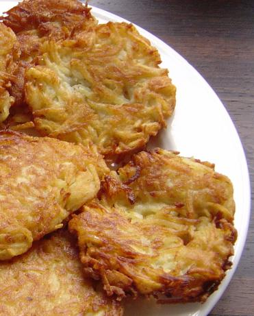 Mom's Awesome Potato Pancakes