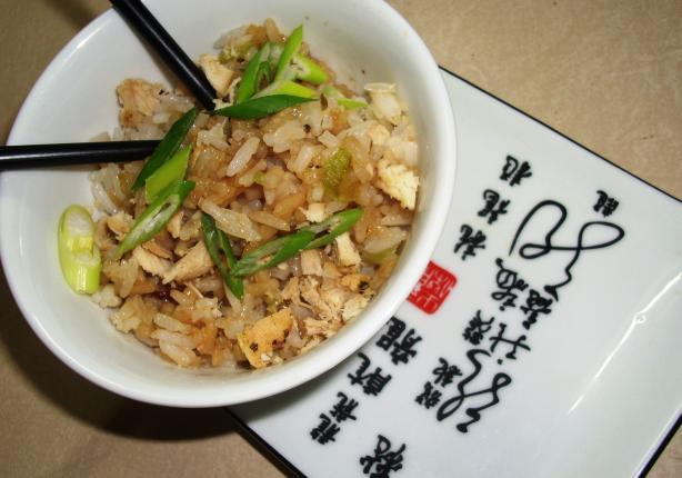 Stir-Fried Rice With Pork
