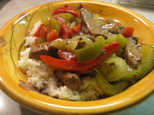 Gram's Chinese Pepper Steak