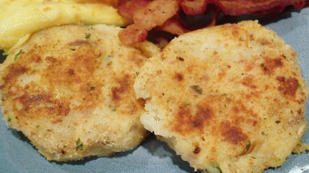 Low Fat Potato Bacon and Cheese Hash Browns Homemade