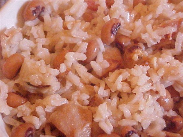 Hoppin' John -- Rice and Black-Eyed Peas