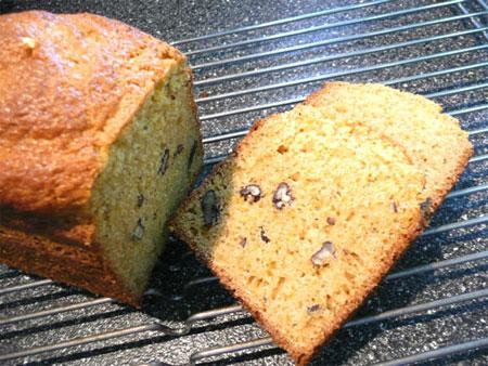 Gluten Free Orange Walnut Bread
