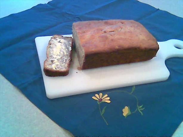 Cream Cheese Walnut Banana Bread