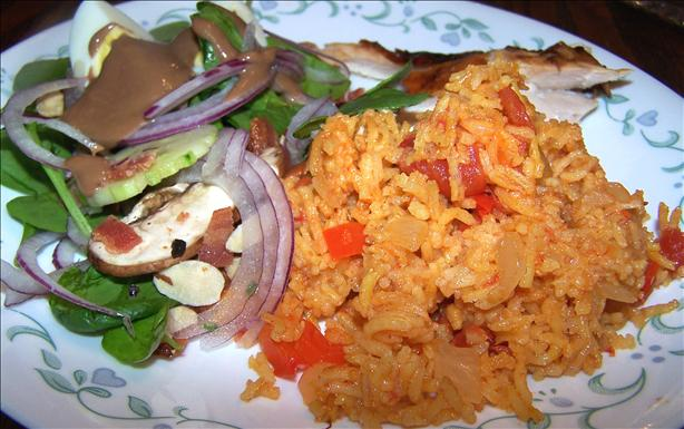 Mexican Saffron Rojo Rice