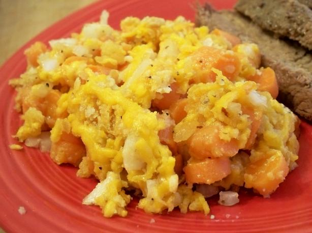 Cheese 'n Carrots Casserole