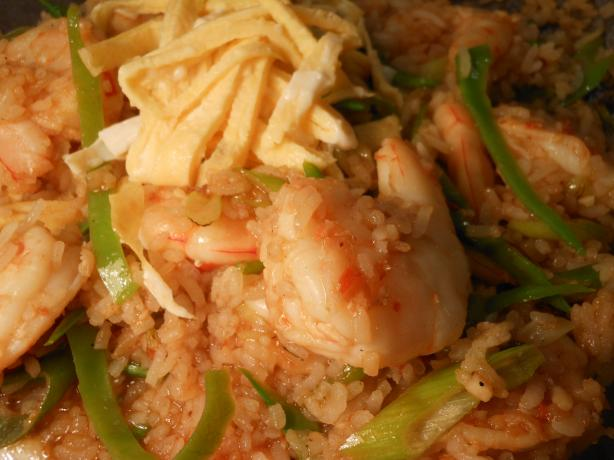 Spicy Prawn Fried Rice from New Zealand