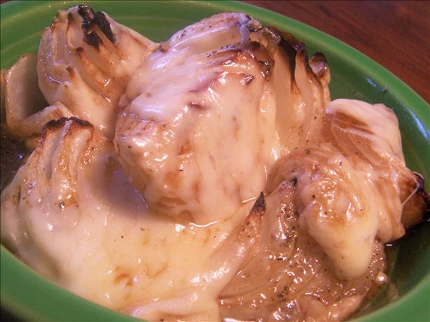 Savory Baked Onions With Swiss Cheese