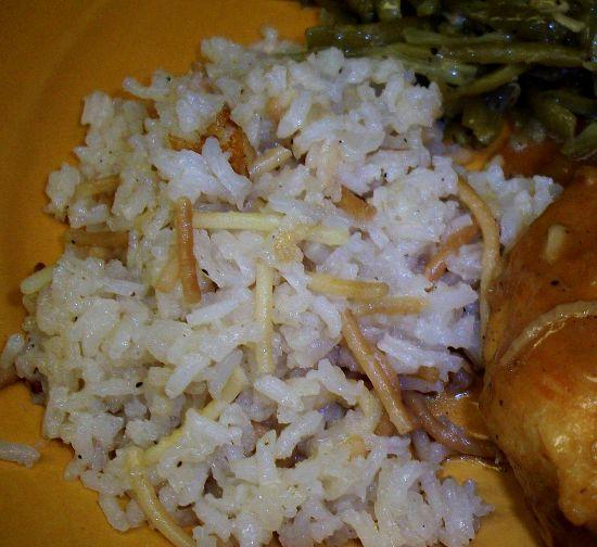 Elaine's Rice Pilaf