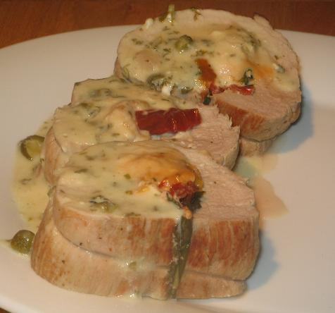 Stuffed Veal Loin