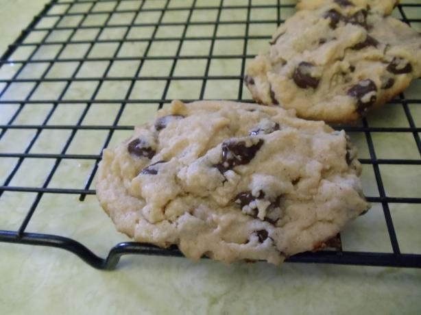 Chunky Chocolate Chip Peanut Butter Cookies