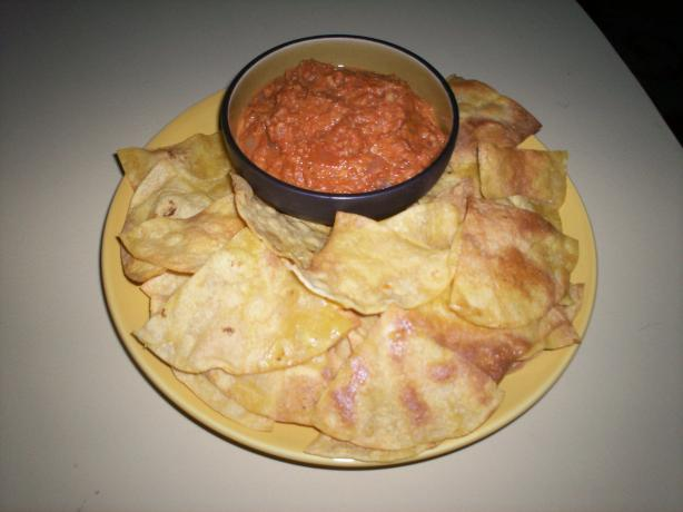 Homemade Corn Tortilla Chips, Easy Cheap Mexican Snack Food