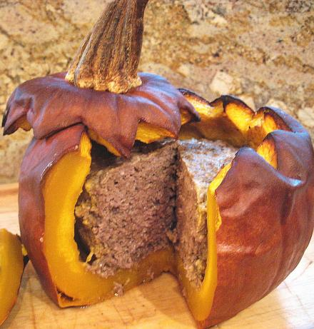Great Pumpkin Meatloaf