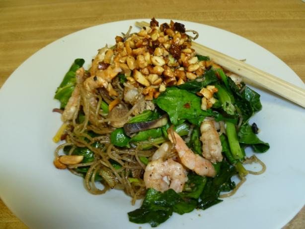 Pad Thai With Banana Flower