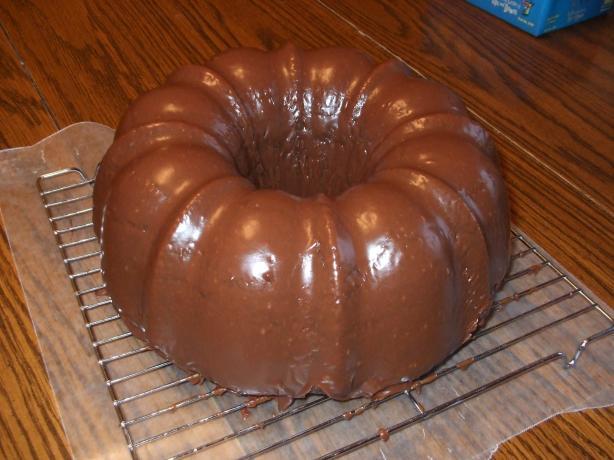 Chocolate Bundt Cake Glaze
