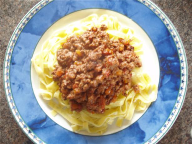 Classic Bolognese Meat Sauce (bolognaise)