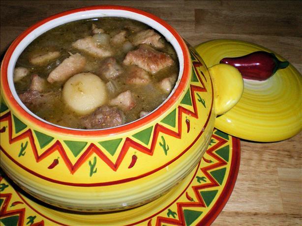 Green Chile Pork Stew