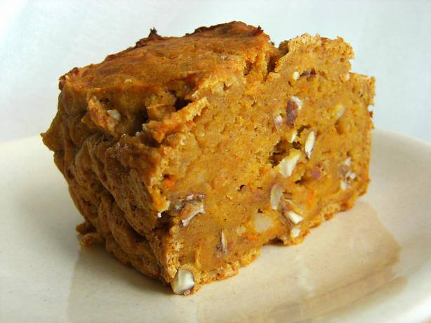 Easy Pumpkin Black Walnut Bread (Cake)