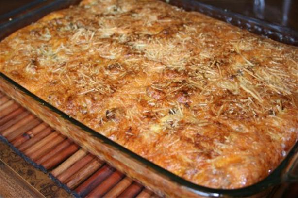 Crescent Sausage and Potato Brunch Bake
