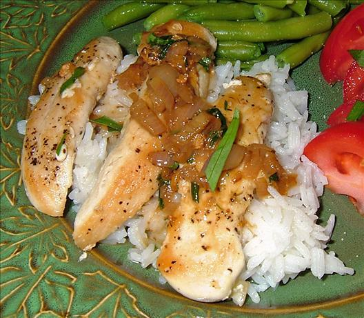 Chicken Breasts in Tarragon Sauce